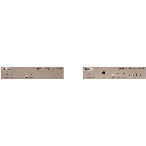 Gefen DVI KVM over IP Transmitter & Receiver Kit