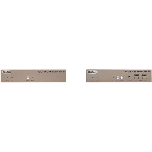 Gefen DVI KVM over IP with Local Output Transmitter & Receiver Kit