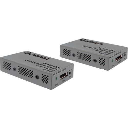 Gefen 4K 600 MHz DisplayPort Extender Kit over Multimode Fiber Cable (660')