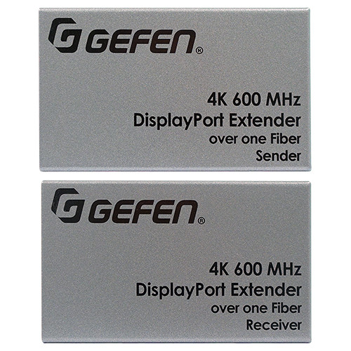 Gefen 4K 600 MHz DisplayPort Extender Kit over Multimode Fiber Cable (660')