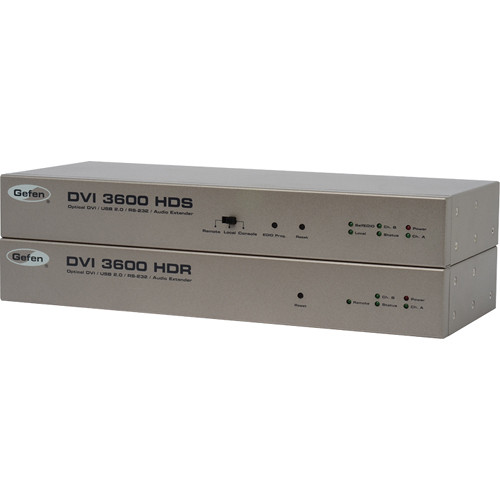 Gefen DVI 3600HD Optical DVI / USB 2.0 / RS-232 / Audio Extender