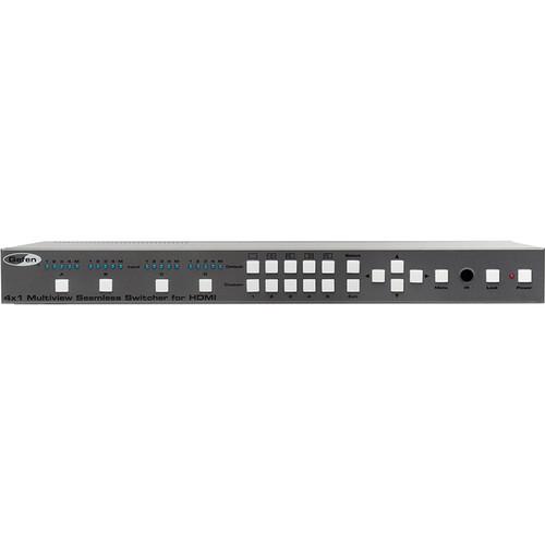 Gefen 4x1 Multiview Seamless Switcher for HDMI