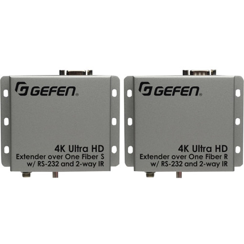 Gefen 4K Ultra HD HDMI/Serial/IR Extender over One Fiber