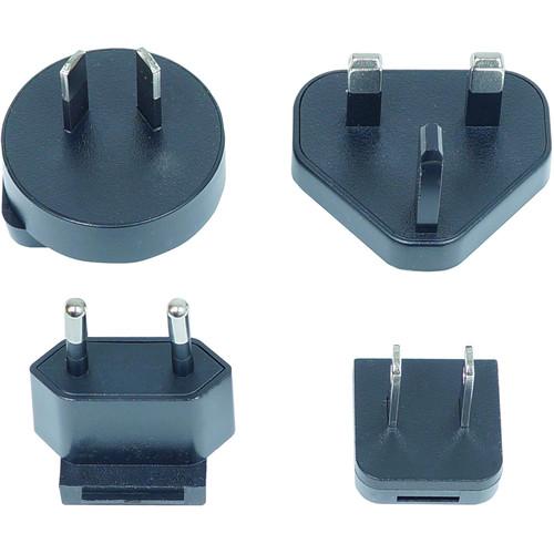 Gefen Power Supply with US, UK, EU & AU Interchangeable Connectors (5 VDC, 2.6A, Level VI)