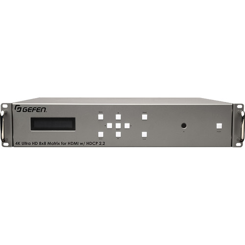 Gefen EXT-UHD-88 4K Ultra HD 8x8 HDMI Matrix with HDCP 2.2