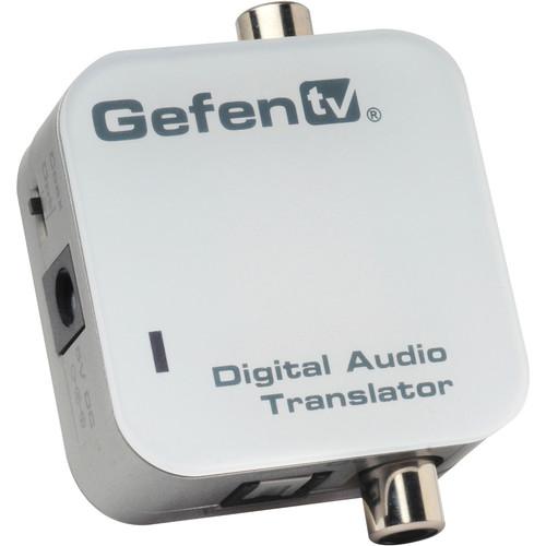 Gefen Coaxial to TOSLINK Digital Audio Translator