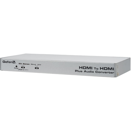 Gefen HDMI to HDMI Audio De-Embedder with Eight LPCM Audio RCA Outputs