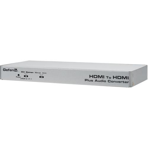 Gefen HDMI to HDMI Audio De-Embedder with Eight LPCM Audio RCA Outputs