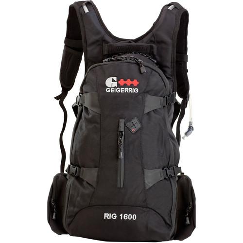 Geigerrig Rig 1600 3L Hydration Pack (Black)