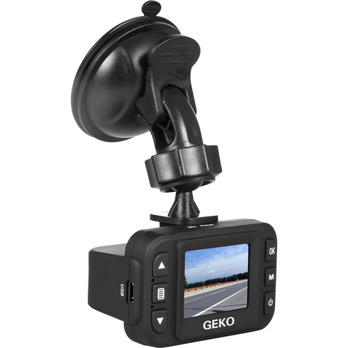 GEKO E100 1080p Dash Camera with DVR