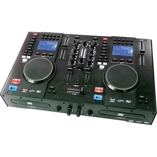 Gem Sound CMP-1200 Dual CD and MP3 DJ Mixer and MIDI Controller