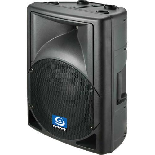 Gem Sound PXA108 2-Way Powered Speaker