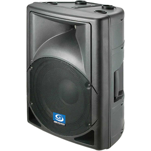 Gem Sound PXA115 2-Way Powered Speaker