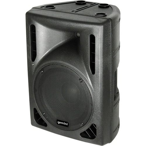 "Gemini DRS-15BLU 15"" Active Loudspeaker with USB + SD + Bluetooth MP3 Player"