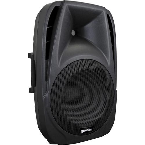"Gemini ES-15BLU 15"" Active Loudspeaker with USB/SD/Bluetooth MP3 Player"