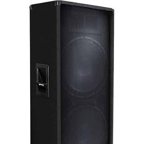 "Gemini GT-3004 - 300W Dual 15"" Trapezoid Passive Loudspeaker"