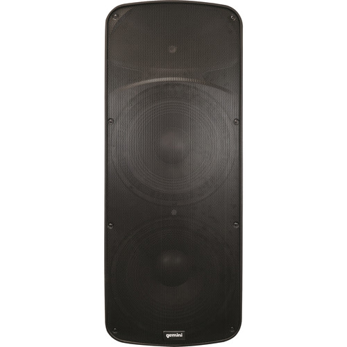 Gemini HPS Series HPS-215 BLU Professional Loudspeaker with SD Card Slot, USB 2.0 Drive, and Bluetooth