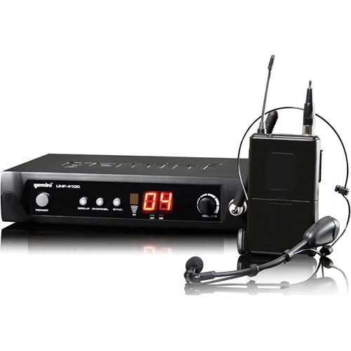 Gemini UHF-4100HL: Single 100-Channel UHF Wireless System