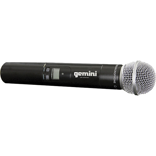 Gemini Handheld Transmitter Microphone for UHF-5100M & UHF-5200M Wireless Systems