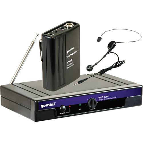 Gemini VHF-1001HL Single Channel Wireless System (Ch. 4)