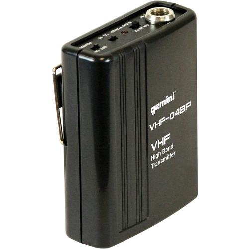 Gemini VHF-04BP - Beltpack Transmitter for VHF-1001M and VHF-2001M Systems
