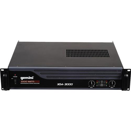 Gemini XGA-3000 Professional Power Amplifier