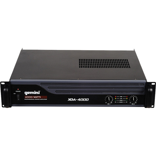 Gemini XGA-4000 Professional Power Amplifier