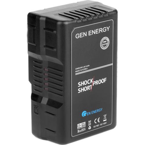 GEN ENERGY G-B200 14.4V, 160Wh Li-Ion Battery (V-Mount)