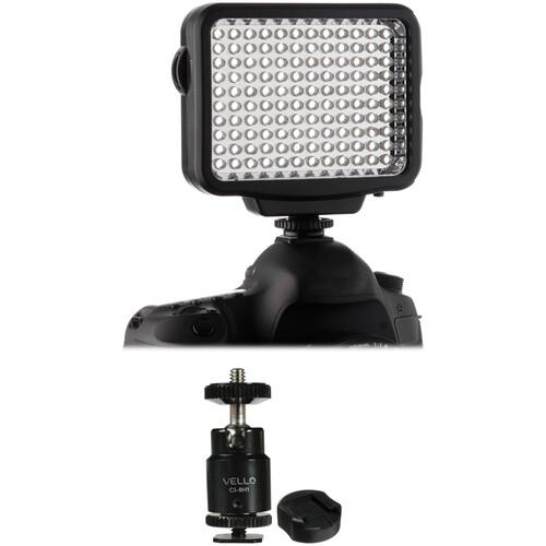 Genaray LED-5300 Dimmable Light & Multi-Function Ball Head Kit
