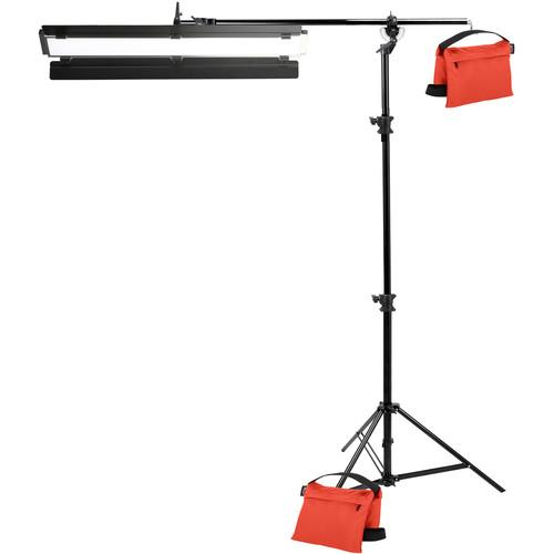 "Genaray Single Light 36"" Soft Strip 1-Light Standard Kit with Light Stand"