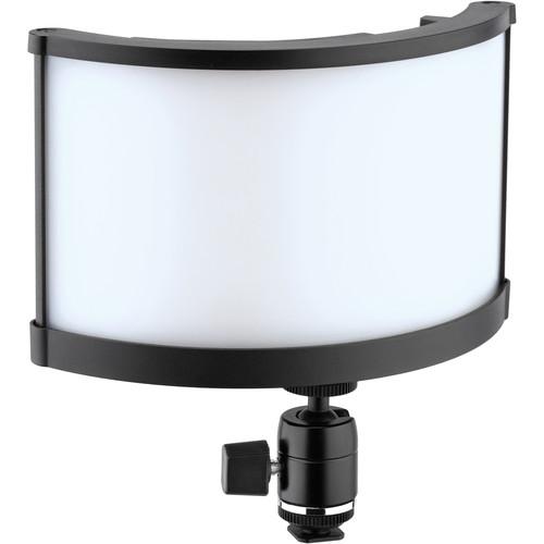 """Genaray 10"""" Curved Super-Wide Bi-Color SMD LED On-Camera Light"""