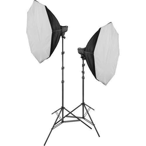 Genaray MonoBright 750 Bi-Color LED 2-Light Kit