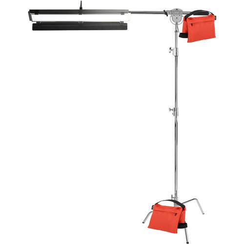 "Genaray Single Light 36"" Soft Strip 1-Light Pro Kit with C-Stand"