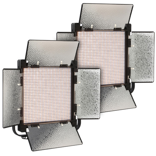 Genaray SpectroLED 1200 Bi-Color Studio LED 2-Light Kit