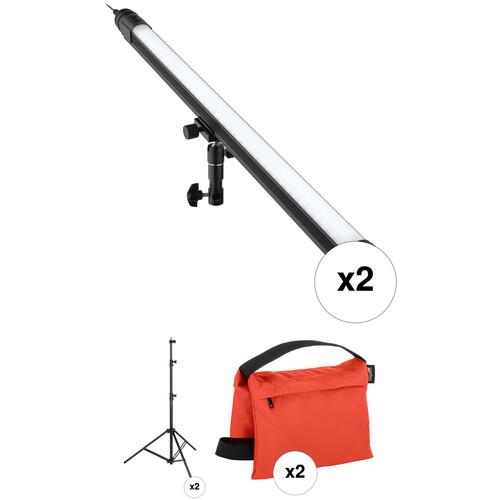 "Genaray SpectroLED 34"" Baton Key and Edge/Fill Lighting Budget Kit"