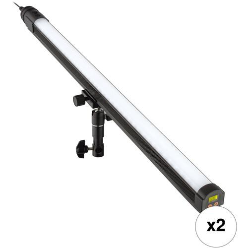"""Genaray Spectro LED 34"""" Baton Stick Light Bi-Color 2-Pack"""