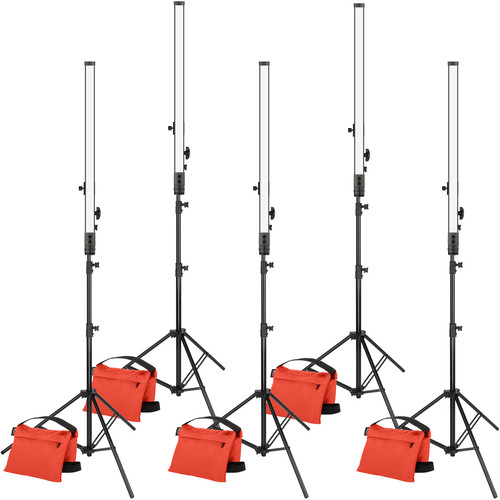 "Genaray SpectroLED 34"" Baton Triangle and Edge Lighting Budget Kit"