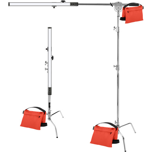"Genaray SpectroLED 34"" Baton Clamshell Lighting Pro Kit"