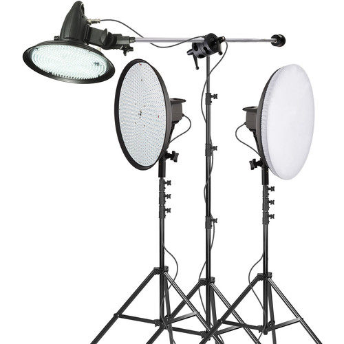Genaray SpectroLED Daylight 3-Light Interview Kit