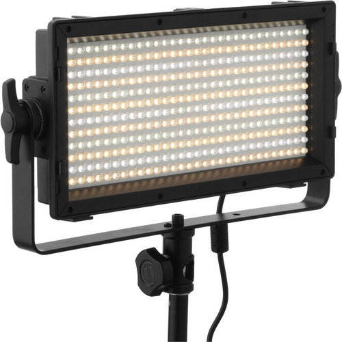 Genaray SpectroLED Essential 365 Bi-Color 2-Light Kit with Stands and Batteries