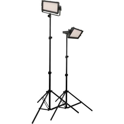 Genaray SpectroLED Essential 500 Bi-Color 2-Light Kit with Batteries