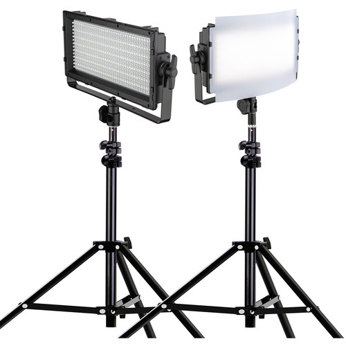 Genaray Spectro LED Essential 500IID Daylight LED 2-Light Kit