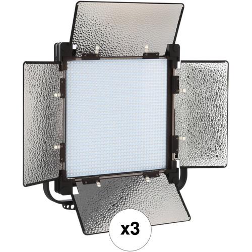 Genaray SpectroLED SP-S-1200D Daylight LED 3-Light Kit
