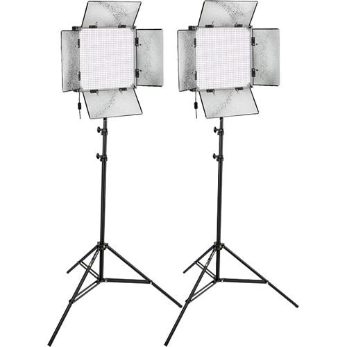 Genaray SpectroLED Studio 1000 Daylight LED Two Light Kit