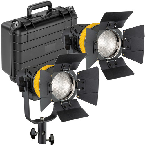 Genaray Torpedo Portable Daylight Focusing LED 2-Light Kit