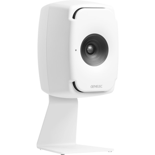 Genelec L-Shape Table Stand for 8X3X Studio Monitor (White)