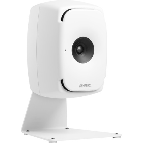 Genelec L-Shape Table Stand for 8X4X and 8X5X Studio Monitor (White)