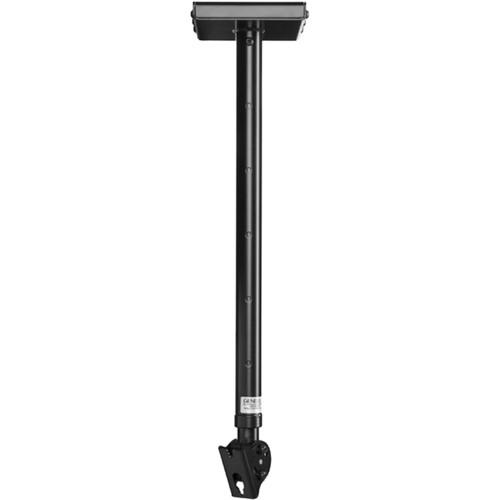 Genelec Adjustable Ceiling Mount for 8000 Series Monitor (Long, Black)