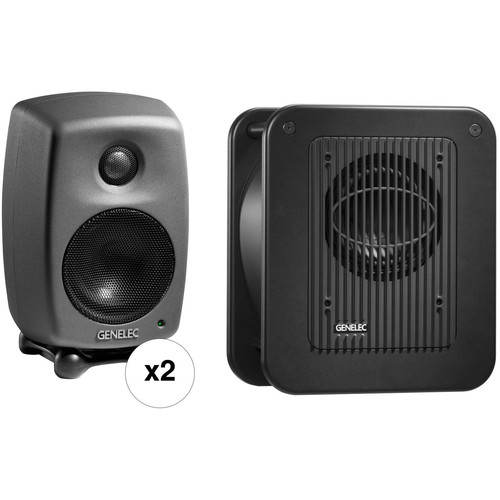 Genelec 8010.LSE StereoPak - Two 8010APs and One 7040A Subwoofer