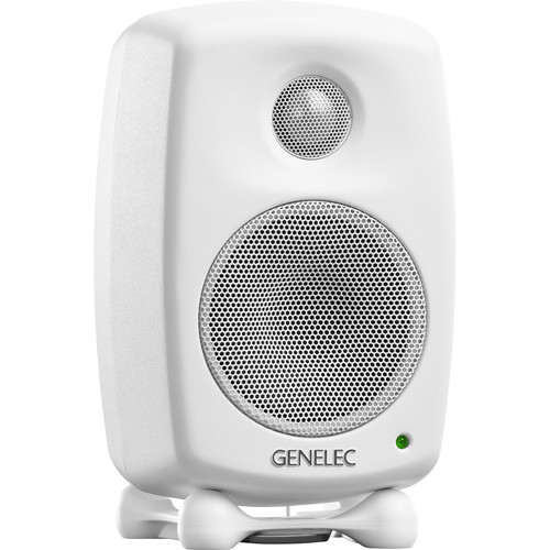 "Genelec 8010A 3"" 2-Way 50W Active Studio Monitor (Single, White)"